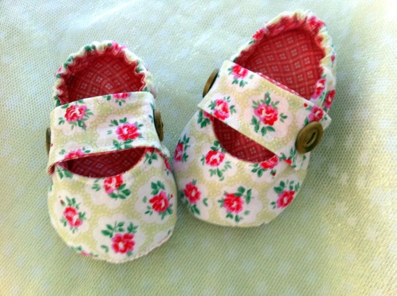 Baby Harriette pumps All 100  cotton fully lined Cath by BubBoots, $24.95