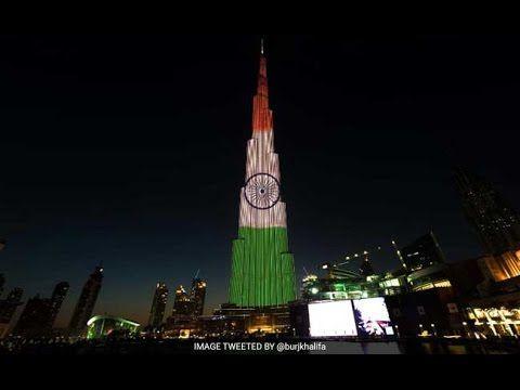 JIOSALE: Burj Khalifa is in Tri colour of Indian flag
