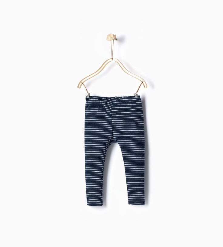 ZARA - PROMOCIJA - Striped leggings