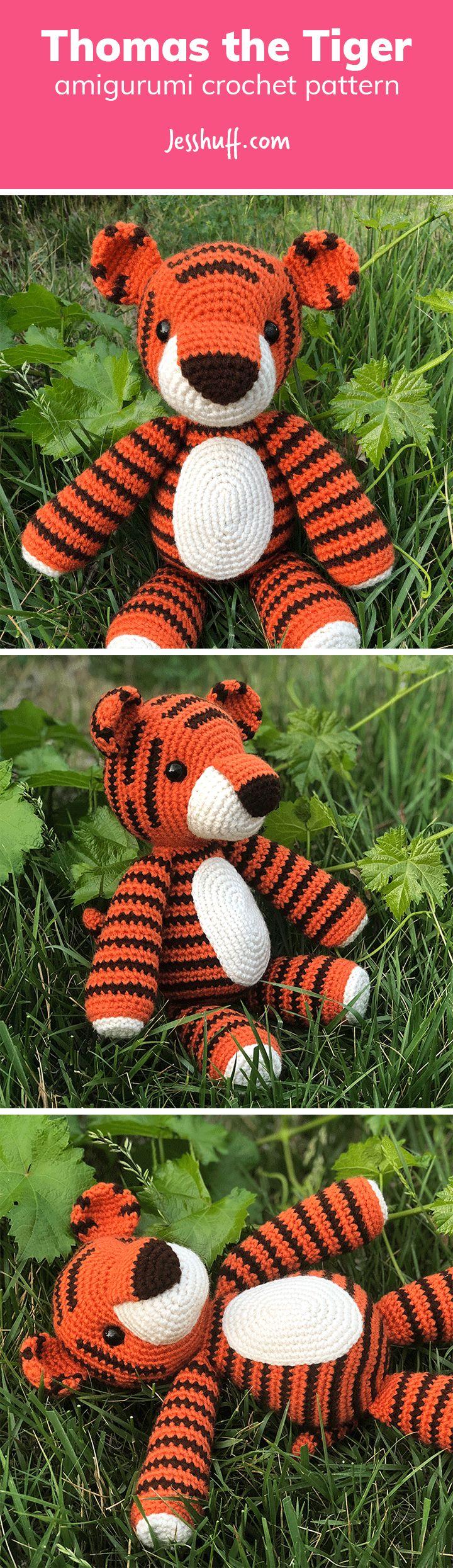 1367 best Hæklede og strikkede dyr knit crochet amigurumi images by ...