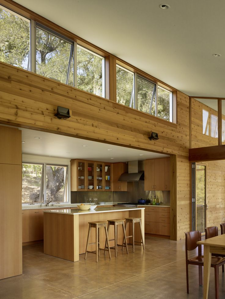 #TurnbullGriffinHaesloop #interior #kitchen #window Photo 8 of Cloverdale Residence modern home