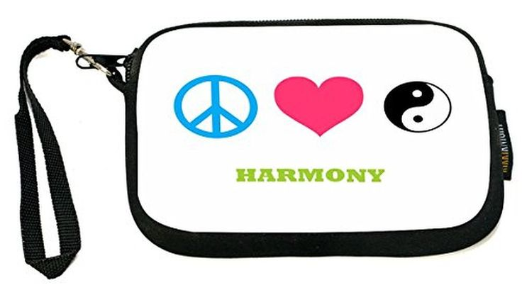 UKBK Happy Thanksgivukkah! - Neoprene Clutch Wristlet with Safety Closure - Ideal case for Camera, Cell Phone, Gameboy, Passport, Cosmetics case, Univ
