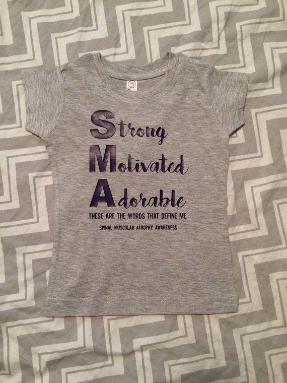 Infant/Toddler t-shirt SMA Spinal Muscular by LittleLihsBoutique