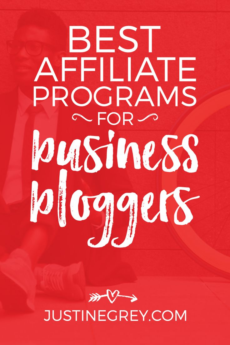 A huge list of the BEST affiliate programs for business bloggers - from web…