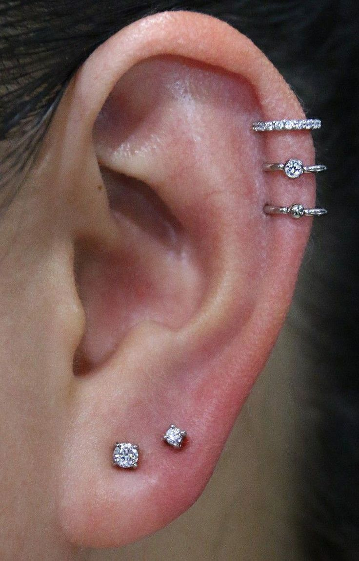 Accessories. Ear piercings. Ideas for ear piercings ...