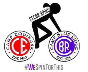 CECBR Spins is a spin-a-thon run for campers, by campers, benefiting the Zander Neuhaus Memorial Fund, SCOPE: Summer Camp Opportunities Promote Education, and Simon's Fund. CECBR Spins is the official camper-led fundraiser of Camps Equinunk and Blue Ridge.  http://www.cecbrspins.myevent.com/