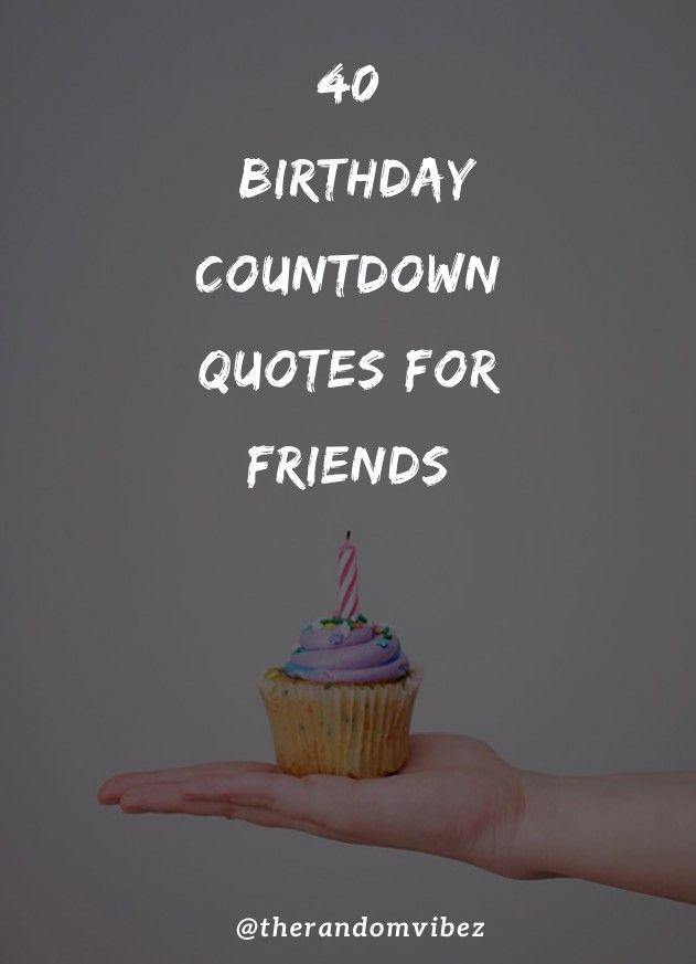 Birthday Countdown Quotes : birthday, countdown, quotes, Birthday, Countdown, Quotes, Friends, Family, Countdown,, Quotes,