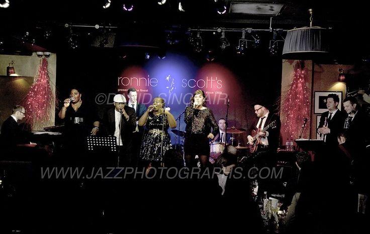 Natalie Williams Soul Family - Ronnie Scott's - London dec. 2015