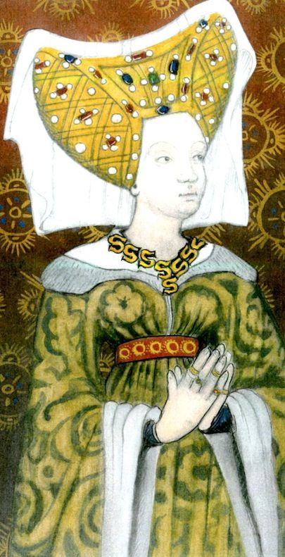 Cecily Neville, Duchess of York....married to Richard of York, and mother of kings Edward IV and Richard III.