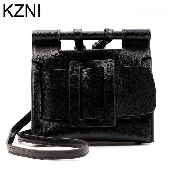 54.21$  Buy now - http://alil9z.shopchina.info/go.php?t=32802473424 - KZNI genuine leather bags for women leather bags women large tote handbags bolsas femininas bolsas de marcas famosas L032802 54.21$ #buymethat