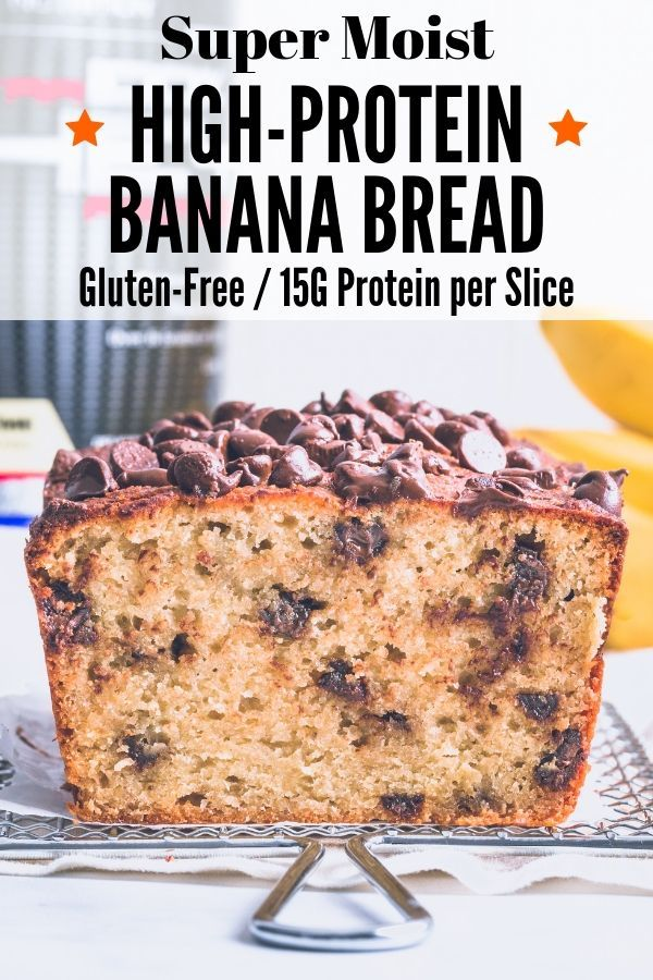 High Protein Banana Bread One Clever Chef Recipe Protein Banana Bread Homemade Banana Bread Banana Bread