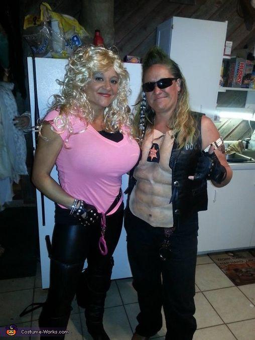 dog the bounty hunter and wife beth costume god