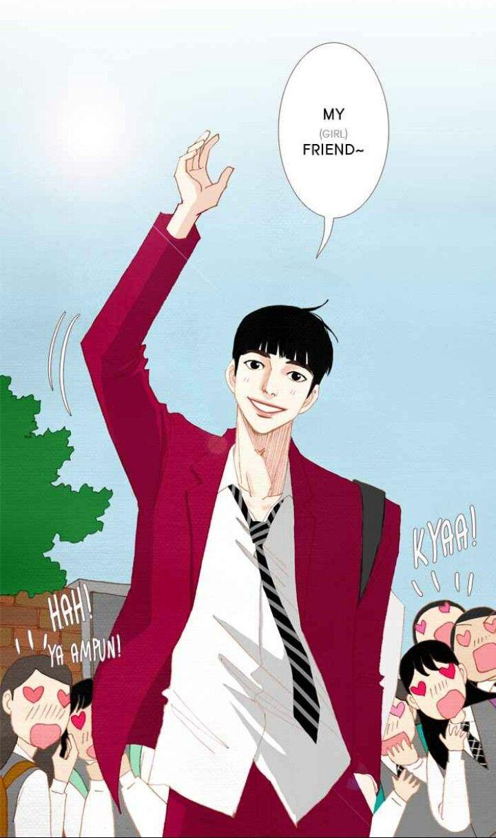 Nam Kijeong from Spirit Finger, Webtoon by kyoungchal han.