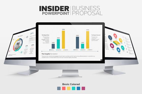 Insider - Proposal Presentations by Graphicslide on @creativemarket