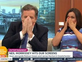 GOOD MORNING BRITAIN presenter Susanna Reid was left stunned today after Men Behaving Badly star Neil Morrissey went into too much detail about one of his tasks on Bear Grylls: Mission Survive.