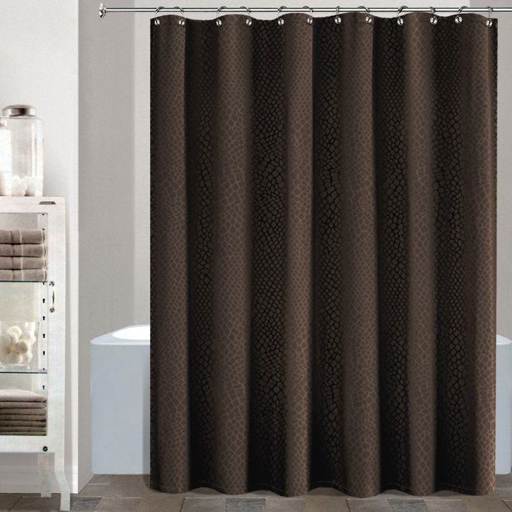 chocolate coral and gold shower curtain. Gator Heavy Faux Croc Crocodile Skin Fabric Shower Curtain 70 by 72 Inch  Brown 164 best Curtains images on Pinterest shower