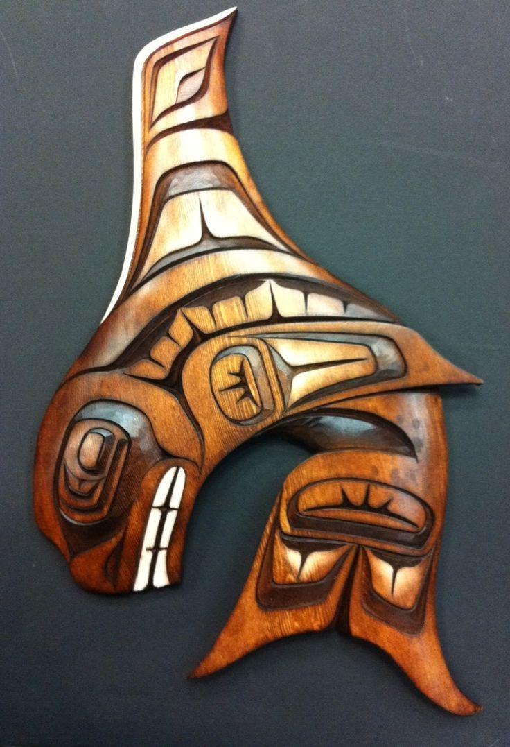 Best carving orca images on pinterest aboriginal art