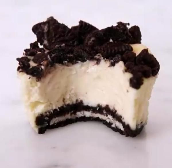 Mini Oreo Cheesecakes Recipe From Addictedtofood Recipes To Try