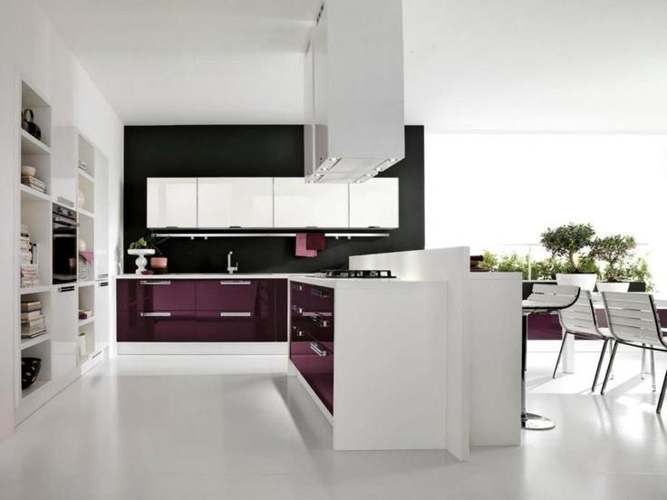 28 best cucine images on pinterest kitchen cabinets for Piani di casa modulari con suite di lavoro