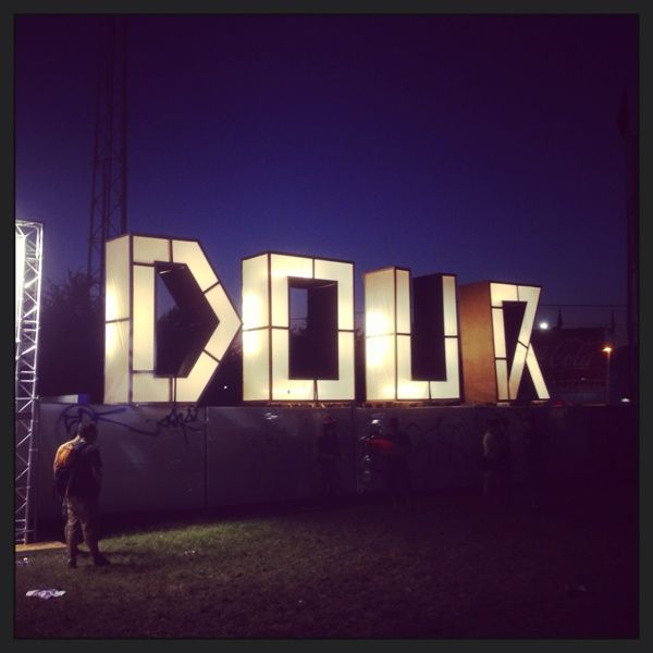 The Making Of Dour Festival Letters
