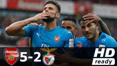 Arsenal vs Benfica 5-2 – All Goals & Extended Highlights – The Emirates Cup 29/07/2017 HD -  Click link to view & comment:  http://www.naijavideonet.com/video/arsenal-vs-benfica-5-2-all-goals-extended-highlights-the-emirates-cup-29072017-hd/