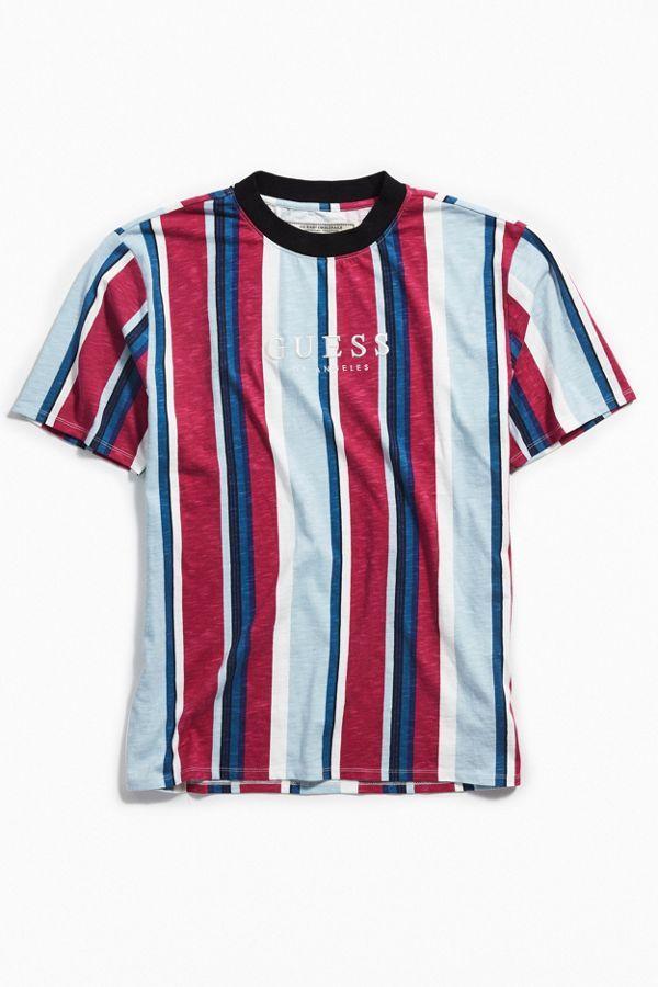 al por mayor online promoción diseño unico GUESS Originals Sayer Striped Tee | Ropa en 2019 | Camiseta ...