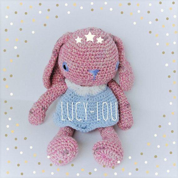 Lucy-Lou Amigurumi cotton bunny  doll