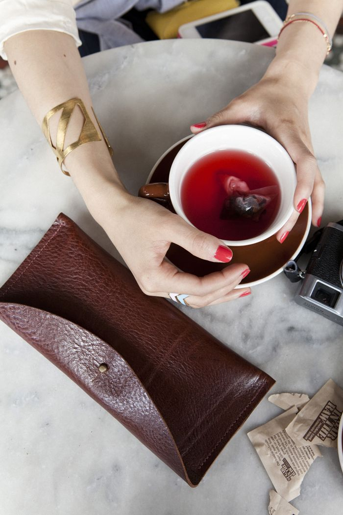 leather clutchSkincare, Work Girls, Skin Care, Teas Time, Shades Of Red, Afternoon Teas, Red Nails, Colors Coordinating, Leather Purses