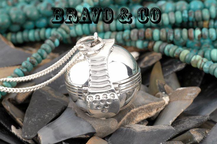 2LK-008 Hallmark 925 Solid Sterling Silver Ball Photos New Locket Necklace Chain