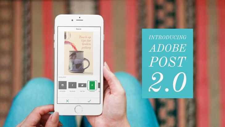 AppsUser: Adobe Post 2.0, ahora con diferentes tamaños de diseño y mejoras en los filtros
