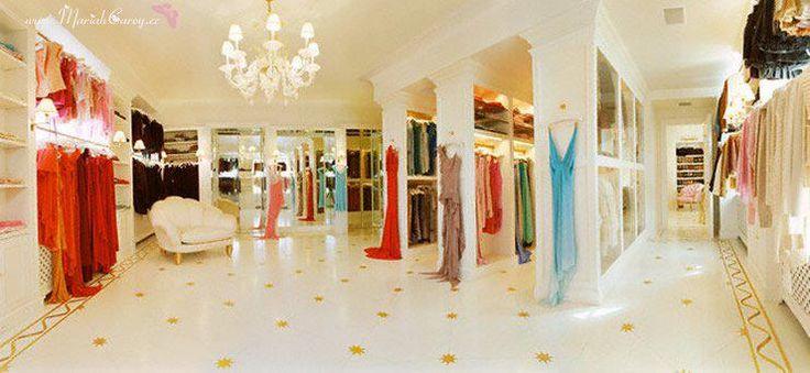 mariah carey closet | Closet of the Day: Mariah Carey's Palatial Shoe Paradise - Whale Week ...