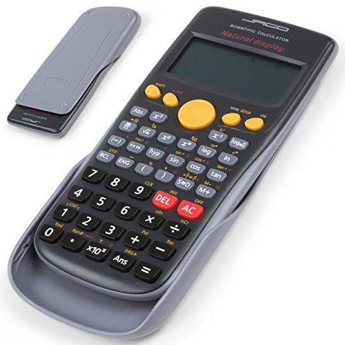 Jago – Calculatrice scientifique – 272 fonctions – affichage en 3 rangées – écran LCD: Price:9.95Si les mathématiques ne sont pas votre…