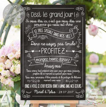 Création d'un tableau entièrement personnalisable qui accueillera et remerciera vos invités et décorera la salle de votre mariage de façon unique unique et originale ! il r - 20976130