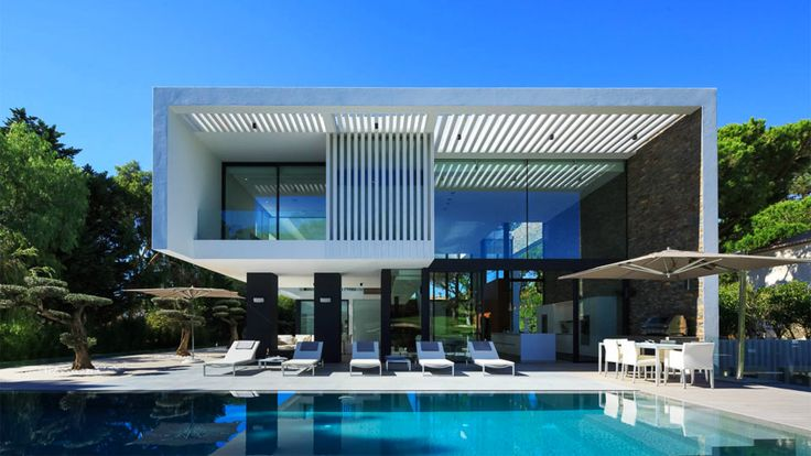 Villa villa diamond location algarve a r c h i t c t u r cont mporain contemporary for Plan architecte villa moderne
