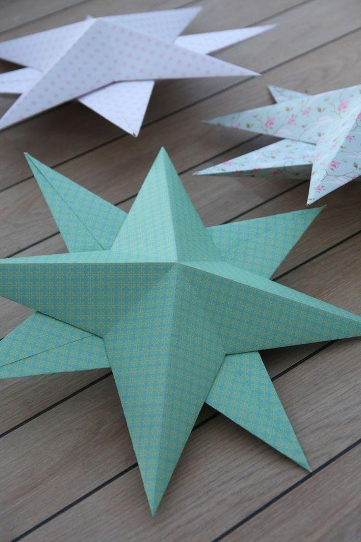 25 einzigartige 3d sterne basteln ideen auf pinterest 3d origami modular 3 d sterne und. Black Bedroom Furniture Sets. Home Design Ideas