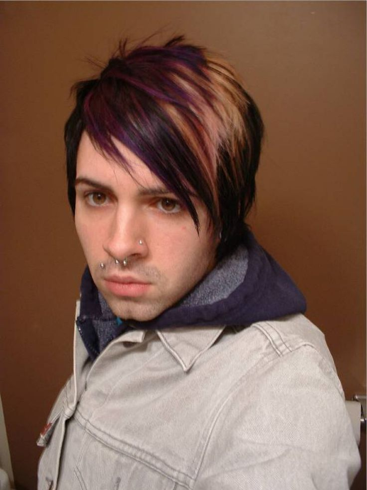 Awesome 20 Hot EMO Hairstyles for Guys 2016