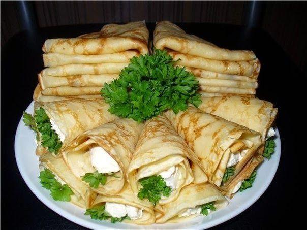 Шустрый повар.: 15 самых вкусных начинок для блинчиков