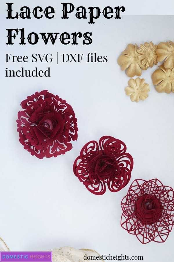 Lace Paper Flowers Free Paper Flower Templates Rolled Paper