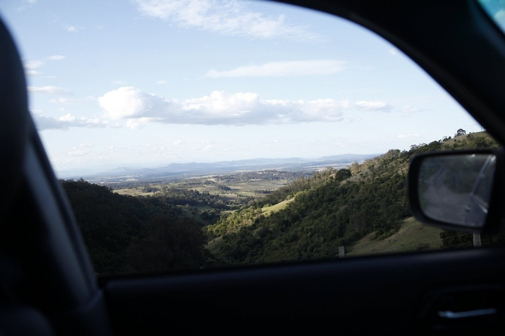 Drive-by vistas. Mount View, Hunter Valley, NSW