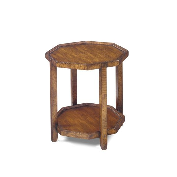 No. 1111 Octagon Table in Curly Maple Maple by WrightTableCompany