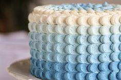 Como fazer bolo ombré / degradê | Creative