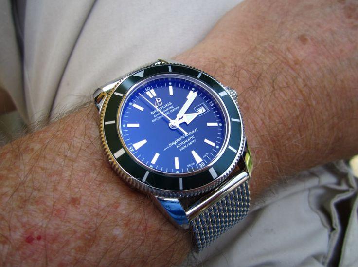 Breitling Aeromarine Superocean Heritage 42 Watch Review ...repinned für Gewinner!  - jetzt gratis Erfolgsratgeber sichern www.ratsucher.de