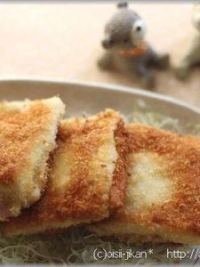 ふわふわ♪はんぺんのハムチーズフライ