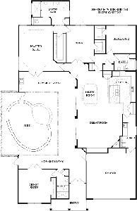 team gainesville indoor outdoor living in a courtyard pool home i love this house plan floor plans pinterest house plans home and outdoor living