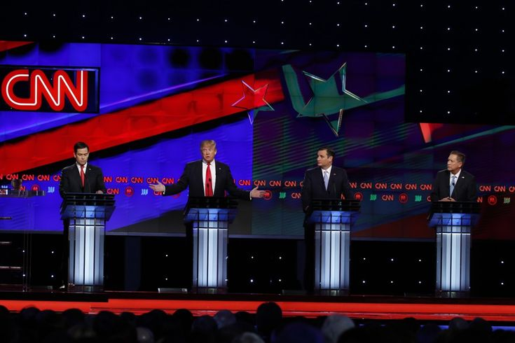 (EnviroNews Polls) -- A Republican presidential debate was held in Miami, Florida on March 10, 2016.  Donald Trump, Ted Cruz, John Kasich and Marco Rubio squared off on the CNN-hosted platform.  As a matter of policy, the EnviroNews Editorial Board