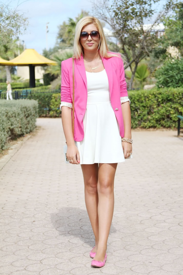103 best Looks - Dresses - With Blazer images on Pinterest