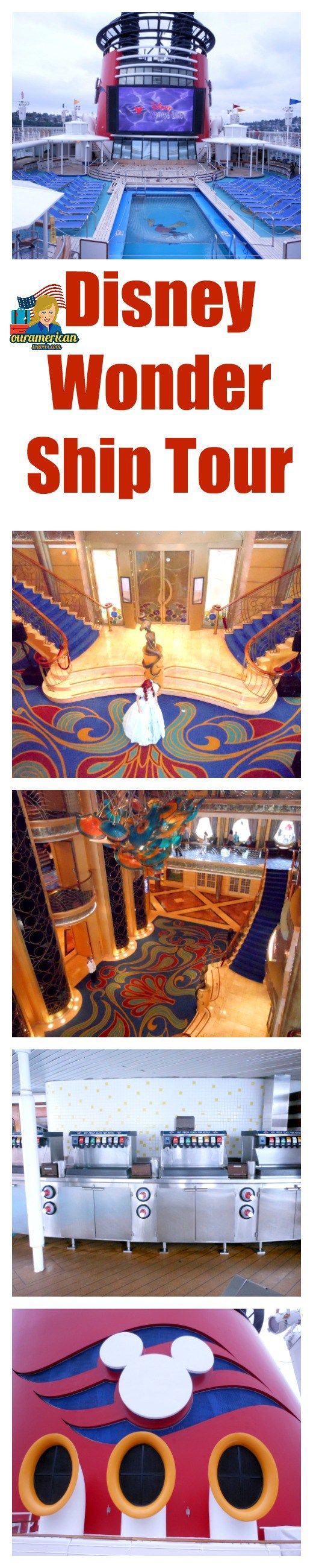 Disney Wonder Ship Tour