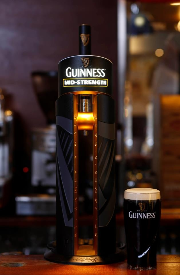 The new Guinness pint -  Enjoy!
