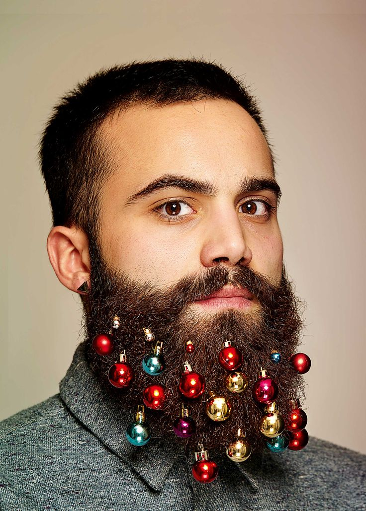 Beard Baubles: Put Christmas on Your Face | Illusion Magazine