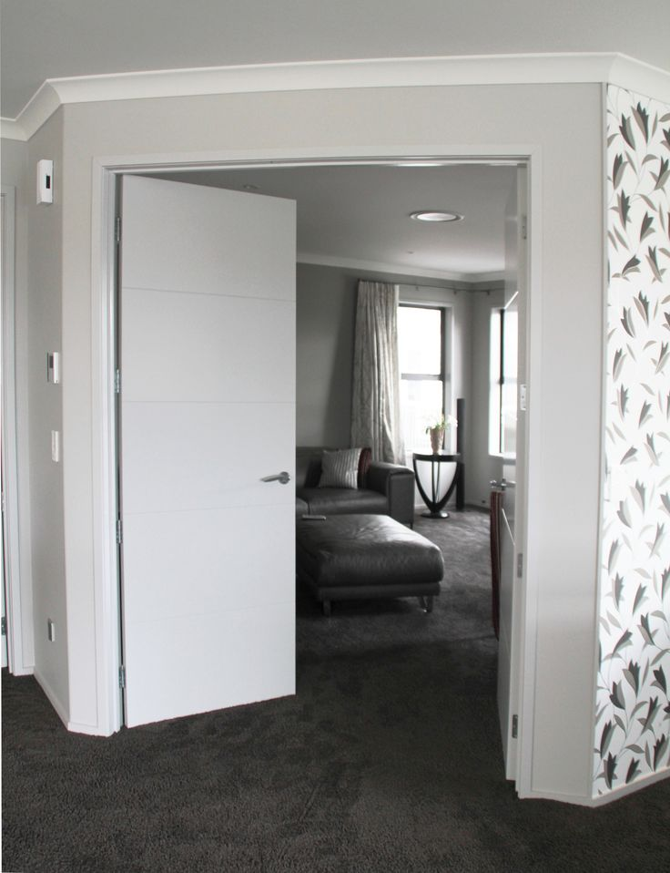 Double doors for the light in summer and warmth in winter